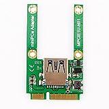 Mini PCI-E Card Slot Expansion to USB 2.0 Interface Adapter Riser Card