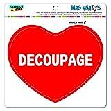 Graphics and More Mag-Neato 's-TM Auto Kühlschrank Vinyl Magnet I love Herz Sport Hobby C, Decoupage