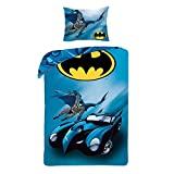 DC Comic Batman Bettbezug und Kopfkissenbezug Set Bettwäsche