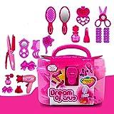 Mädchen Spielzeug Friseur Set Mit Einer Vielzahl Von Zubehör Beauty Case Cosplay Toys