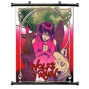 Wolf's Rain Anime Fabric Wall Scroll Poster (16 x 22) Inches