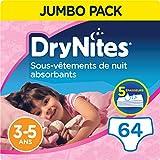 DryNites, Sous-vêtements de nuit absorbants jetables, Pour filles