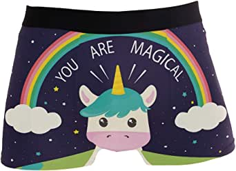 New Fashion Personalized Magic Cartoon Printing Men/'s Swimming Briefs Swimwear