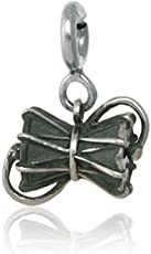fourseven Pendant in Pure 925 Sterling Silver | Damru Charm (Unisex) | Gift for Shiva Devotees
