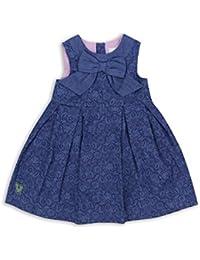 The Essential One - Baby Kinder Mädchen Kleid - Marineblau - EOT337