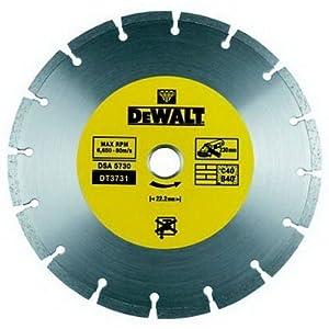 51QI3xuCP6L. SS300  - Dewalt DT3711-QZ - Disco de diamante 125mm corte en obra general