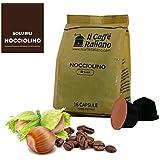 96 cápsulas de café compatibles Nescafé Dolce Gusto - Nocciolino - 96 Cápsulas compatible con maquinas Nescafé Dolce Gusto - (Paquete de 6x16 por un total de 96 Capsules) Il Caffè italiano