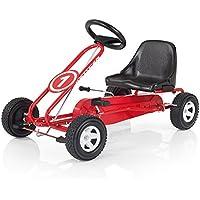 Kettler Kettcar Spa - DAS ORIGINAL - Kinder Go Karts - robustes Tretauto - mit hochwertiger Kunststoffbereifung - rot & schwarz