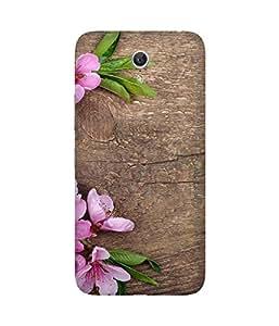 Pink And Wood Lenovo Zuk Z1 Case