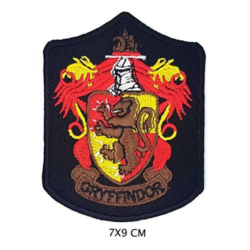 51QI60x1kfL - Parche bordado para planchar o coser de Harry Potter Gryffindor