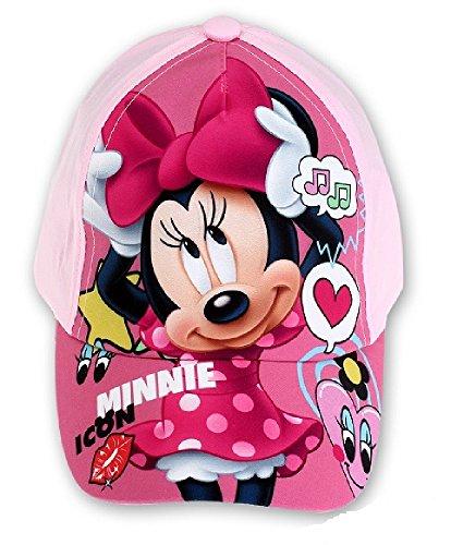 Minnie disney - cappello - ragazza rosa rose taglia unica