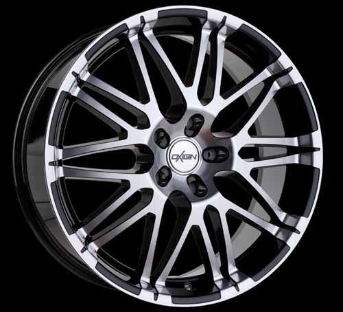 Oxigin--Mattig-oxvierzehn8519-F42bfp-14-Oxrock-85-x-19-ET42-Alluminio-5-x-108-nero-completo-TV-Certificato-Nota-T-parti-TV-lucido-Bianco-confirmar-el-Cultivo