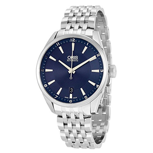 Oris Artix Automatic Blue Dial Stainless Steel Ladies Watch 733-7713-4035MB