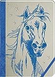 Notizbuch - Pferdefreunde - Meine Notizen (blau)