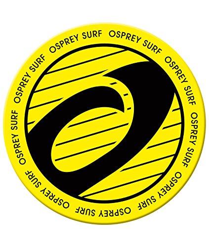 Osprey Biscuit - Tavola da skimboard rotonda, 76 cm, colore: giallo