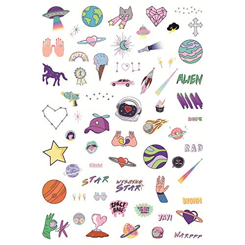 Ogquaton Papieraufkleber Kawaii Cartoon Märchen Thema Scrapbooking Handwerk DIY Dekoration Planer Journal Notebook Tagebuch Album Hohe Qualität -