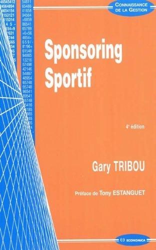 Sponsoring sportif par Gary Tribou
