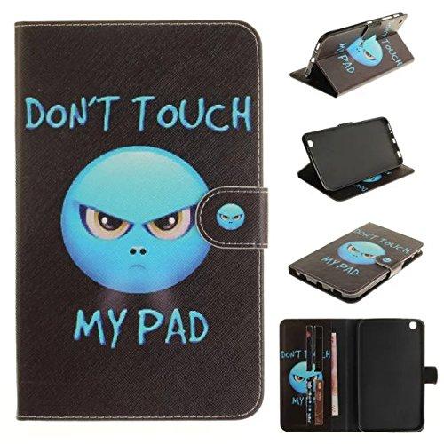 Skytar Samsung Galaxy Tab 3 8.0 Hülle - PU Leder Flip Cover Case Stand Hülle für Samsung Galaxy Tab 3 8.0 Zoll SM-T310 T311 T315 Tablet Schutzhülle Tasche Etui mit Karten-slot,Zorn (Zoll 8 Cover Tab 3 Samsung Für)