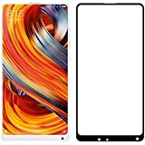 Xiaomi Mi Mix 2, Tempered Glass, ( 4D BLACK GLASS ), Premium Real 9H Anti-Fingerprints & Oil Stains Coating Hardness Screen Protector Guard For Xiaomi Mi Mix 2