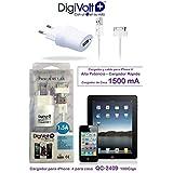 Digivolt - Cargador iphone 3/4 1500ma qc-2409
