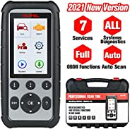 Autel MaxiDiag MD806 Pro OBD2 Scanner, 2021 Newest Car Diagnostic Scan Tool with All Systems Diagnosis, Oil Re
