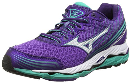 Mizuno Wave Paradox 2 Damen Laufschuhe Purple (Royal Purple/Silver/Atlantis)