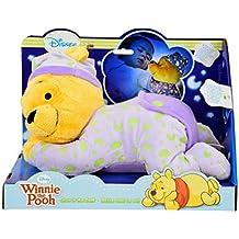 Winnie l'Ourson - Figure Peluche avec des Effets de Lumière - Lampe de Nuit 30cm