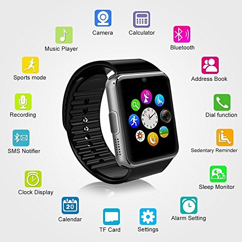 MallTEK Smartwatch Bluetooth