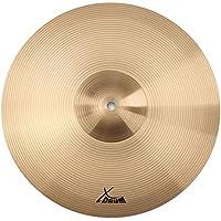 """XDrum 14"""" Eco Becken Crash/HiHat (Drum Cymbals, Musikalisches, harmonisches und dennoch durchsetzungsfähiges Beckenset, Im Klang mitteldunkel, voll)"""