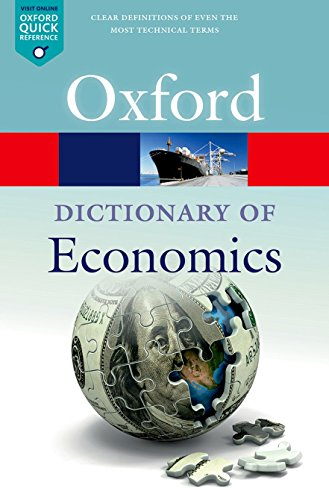 A Dictionary  of Economics (Oxford Quick Reference) por Nigar Hashimzade