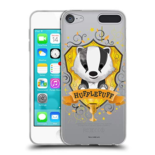 Head Case Designs Offizielle Harry Potter Hufflepuff Deathly Hallows I Soft Gel Huelle kompatibel mit Apple iPod Touch 6G 6th Gen (4. Touch Gen Ipod 16gb)