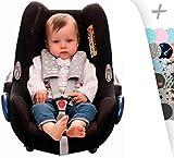 Protezione imbracatura di arneses per passeggino, Maxicosi e sedia di auto. Janabebe