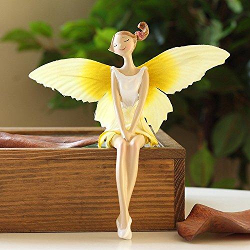 K&C Angel Girl poliresina figura donne esotico scultura signora statua decorazione collezione