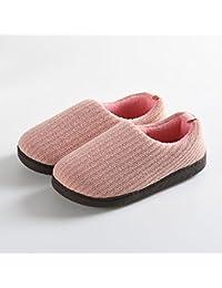 Nordvek Mule - Zapatillas de estar por casa para mujer, color gris, talla 35