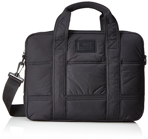BOSS Orange Herren Bomber_s Doc 10199208 01 Business Tasche, Schwarz (Black), 8 x 30 x 39 cm (Tasche Boss Orange)