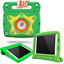 iPad Mini 4Case, roocase Orb Starglow iPad mini 4Kids Case [Glow in the Dark Star Design] Convertible Handle Stand Kid Friendly Protective Cover Case for Apple iPad Mini 42015Model verde iPad Mini 4 (2015)