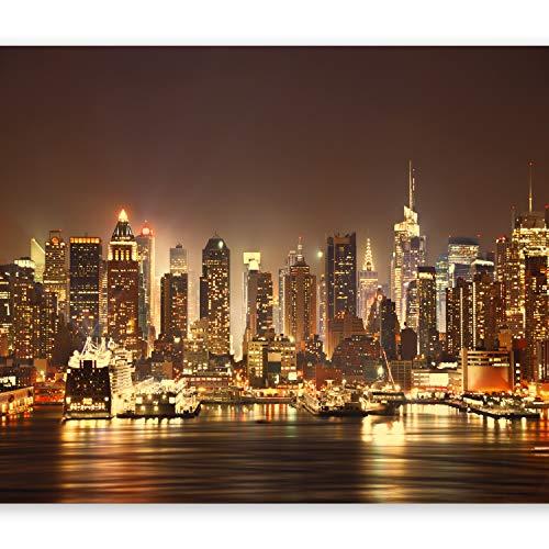murando Papier peint intissé 400x280 cm Décoration Murale XXL Poster Tableaux Muraux Tapisserie Photo Trompe l'oeil Ville New York d-B-0034-a-d