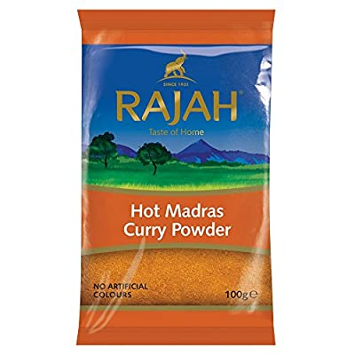 Rajah Hot Madras Curry Powder, 100 g from Rajah