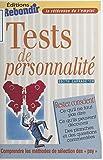 Tests de personnalité...