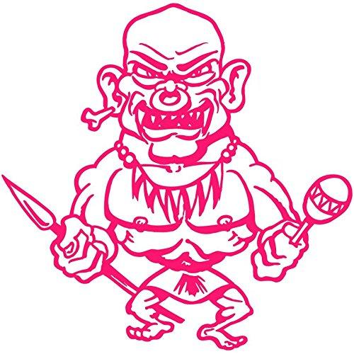 Wandtattoo Logo lebenden Toten selbstklebend-mehrere Farben erhältlich-20x 20 rosa - Pink Logo Tote
