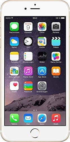 "Apple iPhone 6 Plus - Smartphone libre iOS (pantalla 5.5"", cámara de 8 Mp, memoria interna de 128 GB, Dual-core 1.84 GHz, 1 GB de RAM) dorado - (Reacondicionado Certificado por Apple)"