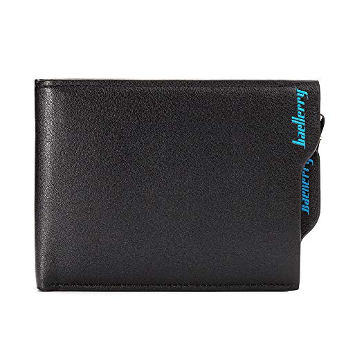 PUTTL Slim Wallet Rome Leather Men's Black/Brown Rom, Brown@2