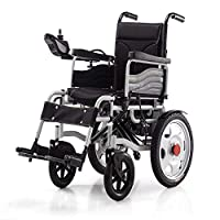 EMOGA Electric Powered Wheelchair Folding Lightweight 34Kg,Strong And Durable For The Use,Motorized Wheelchairs Convenient For Home And Outdoor Use