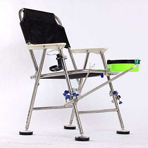 Stainless steel angeln stuhl folding angel chair kann lügen angeln hocker angeln stuhl heben und angeln stuhl-A