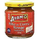 AYAM Pâte de Curry Rouge - Lot de 3