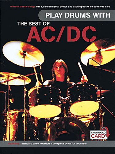 Play Drums With... The Best Of AC/DC (Book/Audio Download) (Wise Publications)
