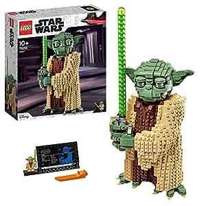 LEGO - Star Wars Yoda Costruzioni Piccole, Modello da Collezione con Espositore, L'attacco dei Cloni, Idea Regalo, 75255 5702016370775 LEGO