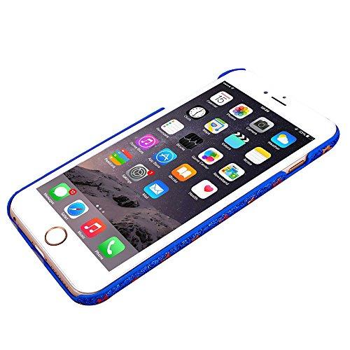 """MOONCASE iPhone 6 Plus Case Hard Shell Cover Housse Coque Etui Case pour iPhone 6 Plus (5.5"""") Violet saphir"""