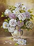 Cuadro sobre Lienzo - Hortensia Flores Ii Pinturas Cuadros Con Flores Naturaleza Muerta Pared...