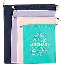Mr Wonderful WOA08514ES Pack de bolsas bonitas para viajar